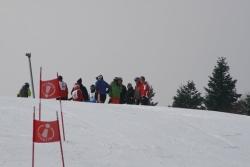 Parallèle du Ski club Roannais et du Ski club de Chalmazel